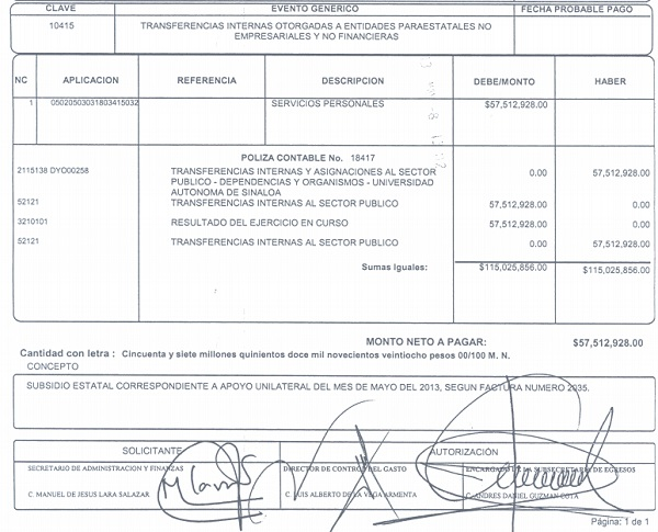Las mentiras y verdades del subsidio en la UAS: ¿quién engaña a ...