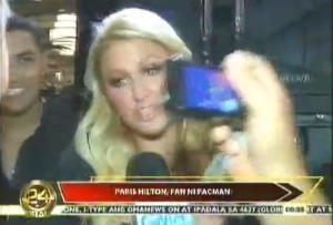 Con Paris Hilton..