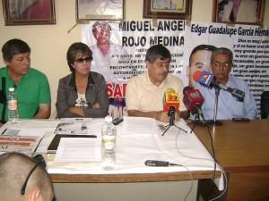 Sandra Luz como madre activista.