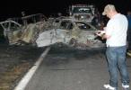 Mueren tres personas cacinadas en choque automovilístico