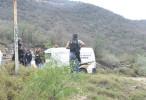Grupo armado quema casas y vehículos en sierra de Sinaloa