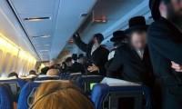 Judíos viajan 11 horas de pie en avión para no sentarse con mujeres