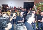 El pueblo y la banda El Recodo llora la muerte de Aldo Sarabia