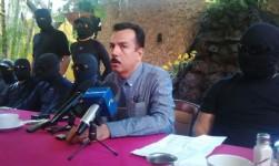 Protestan policías de Sinaloa por despido injustificado; niegan vínculos con el 'narco'