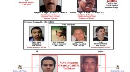 """Operadores del """"Mayo"""" Zambada y """"el Chapo"""", fichados por Estados Unidos"""