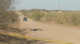 Encuentran asesinado a desconocido en El Tamarindo
