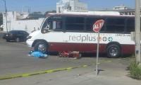 Atropella camión urbano a motociclista en Culiacán