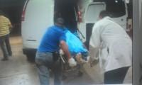Asesinan por la espalda a ex presidiario al llegar a su casa