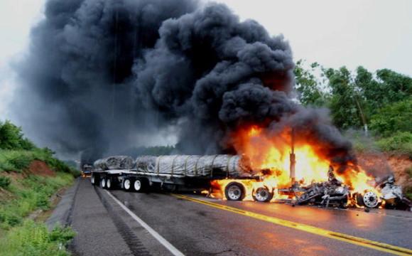 Tanhuato:Al menos 43 muertos en un tiroteo entre sicarios y la policía