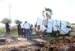 Policía atropella y mata a su esposa en Guasave