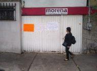La protesta LGBT+ que llegó a la CMDX contra los 4 de Morena de Sinaloa