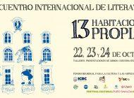 Octubre | Realizarán nueva emisión del encuentro '13 Habitaciones Propias'