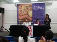 Presentan libro de la académica María Isabel Filinich, en Feria de Minería