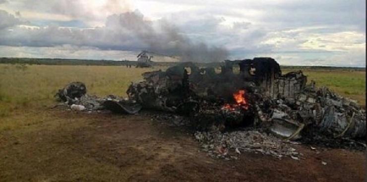 Confirman que avión derribado en Venezuela era del cártel de Sinaloa