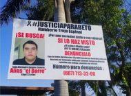 """""""El Borre"""", presunto asesino del joven Humberto Trejo, presenta un amparo para no ser arrestado"""