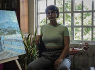 Nuevo talento sinaloense | María Aurora Acosta interviene el logo de La Pared Noticias