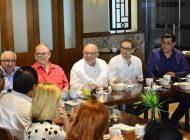 Se reúne el Químico Benítez con el Consejo de la Cámara de la Industria de la Radio y Televisión