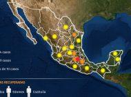 Nacional | Mapa del coronavirus en México hasta el momento