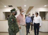 Está por salir nuevo hospital de Culiacán para atender demanda por COVID-19