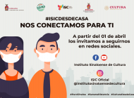 """Comparte ISIC el programa """"ISIC desde casa: Nos Conectamos para ti"""""""