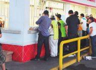 Culiacán | Ley Seca | Barandilla para ciudadanos sorprendidos tomando en la vía pública