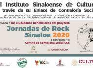 Cultura | Invocan a integrar el Comité de Contraloría Social de las Jornadas de Rock Sinaloa 2020