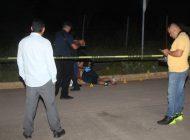 Matan a un joven en la entrada de Valle del Agua, en Culiacán