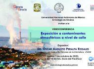 En El Colegio de Sinaloa habrá conferencia sobre contaminantes atmosféricos  a nivel de calle