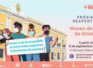 Inician reapertura de museos en Sinaloa
