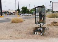 Aparece altar a la 'Santa Muerte' en Chulavista