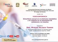 Myrian Velasco expondrá sobre síndrome metabólico y resistencia a la insulina