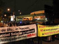 Docentes del Instituto Nacional de Bellas Artes y Literatura se van a paro