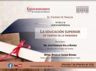 Conversatorio: José Enrique Villa Rivera y Rogelio Garza Rivera, sobre educación superior en tiempos de pandemia