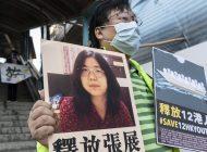 Condenan con prisión a periodista china que informó situación del COVID en Wuhan