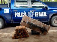 En Choix, Ejército y PEP aseguran paquetes de droga