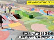 Socializan ampliación del skatepark del Parque las Riberas; invitan a diálogo