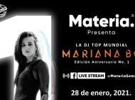 Museo Materia celebrará primer aniversario con concierto virtual de Mariana Bo