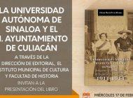 Presentarán libro de Diana Perea sobre la fotografía durante la Revolución en Sinaloa