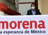 Candidatos de Morena saldrán hoy en la noche: Rocha Moya