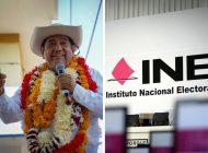 INE retira posibilidad de candidatura a Félix Salgado Macedonio