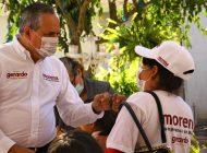Proyectos productivos para generar más empleos: Gerardo Vargas