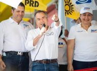 Sergio Esquer arranca campaña; se compromete a recuperar apoyos federales