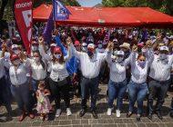 En cuatro encuestas, Rubén Rocha Moya va arriba de otros aspirantes