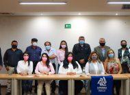Presenta Rosa Elena Millán propuestas de Gobierno para crecimiento económico ante Coparmex