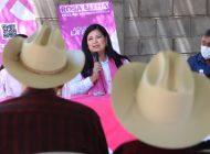 Suma Rosa Elena Millán a Sinaloa de Leyva a su proyecto