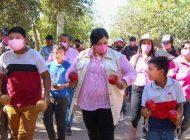 Comunidades indígenas de Ahome respaldan a Rosa Elena Millán para gobernadora
