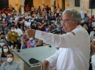 Rubén Rocha Moya va al rescate de pescadores de las presas