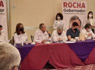 Cierran filas Rocha Moya y Vargas Landeros con la intercamaral de Los Mochis