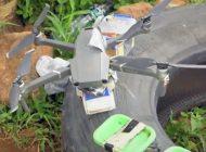 El narcotráfico usó drones explosivos contra policías