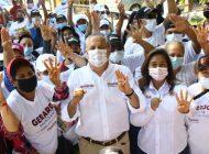 La esperanza con colonias populares, con Morena-PAS: Gerado Vargas